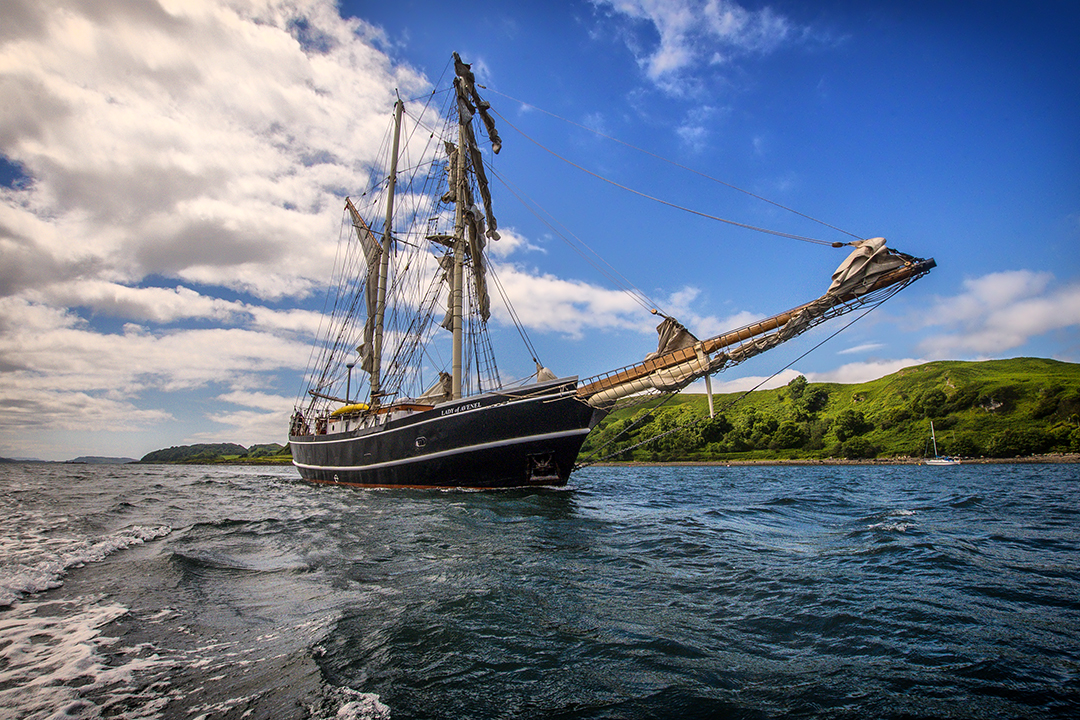 Lady of Avenel | Tall Ship Adventures